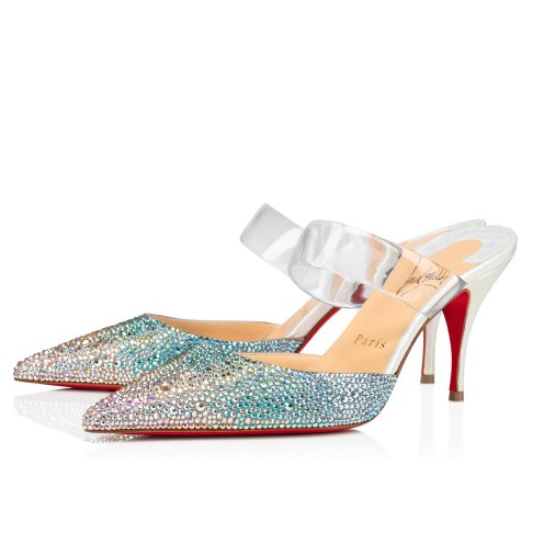 鞋履 - Choc Pvc Strass - Christian Louboutin