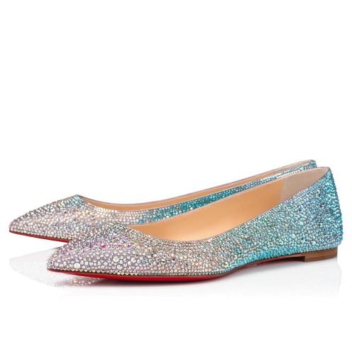 Shoes - Ballalla Strass 000 Strass - Christian Louboutin