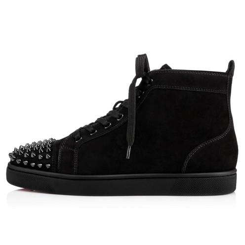 鞋履 - Lou Spikes Flat Suede - Christian Louboutin_2