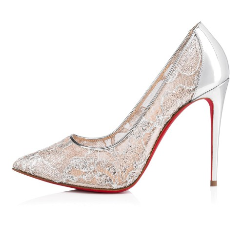 鞋履 - Follies Lace 100 Dentelle - Christian Louboutin_2