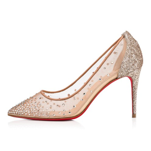 鞋履 - Follies Strass 085 Glitter - Christian Louboutin_2