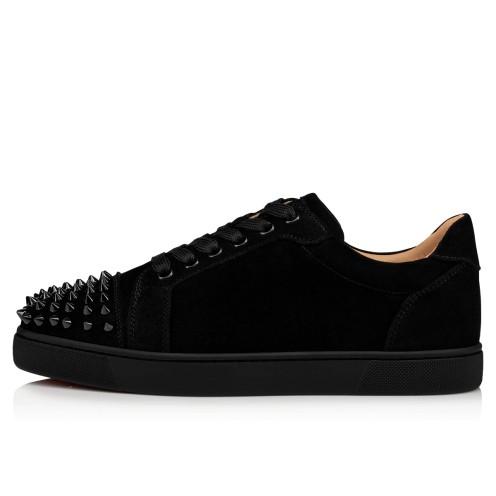 鞋履 - Vieira Spikes 000 Veau Velours - Christian Louboutin_2