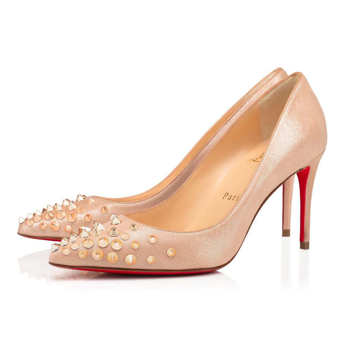 鞋履 - Spikyshell Suede - Christian Louboutin