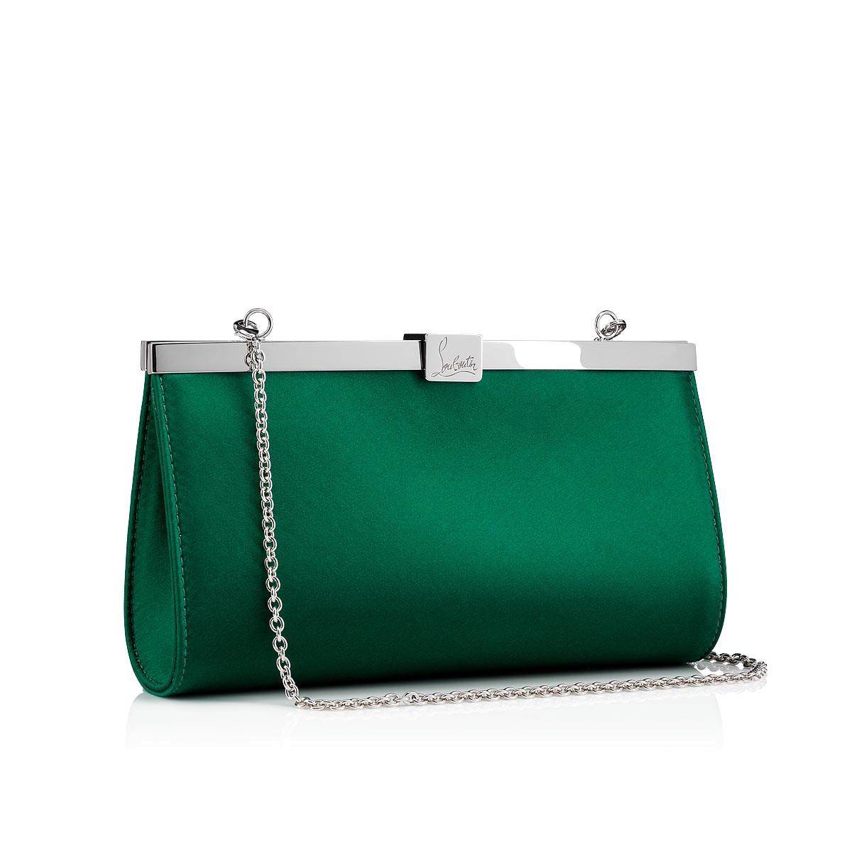 Women Bags - Palmette Small Clutch - Christian Louboutin