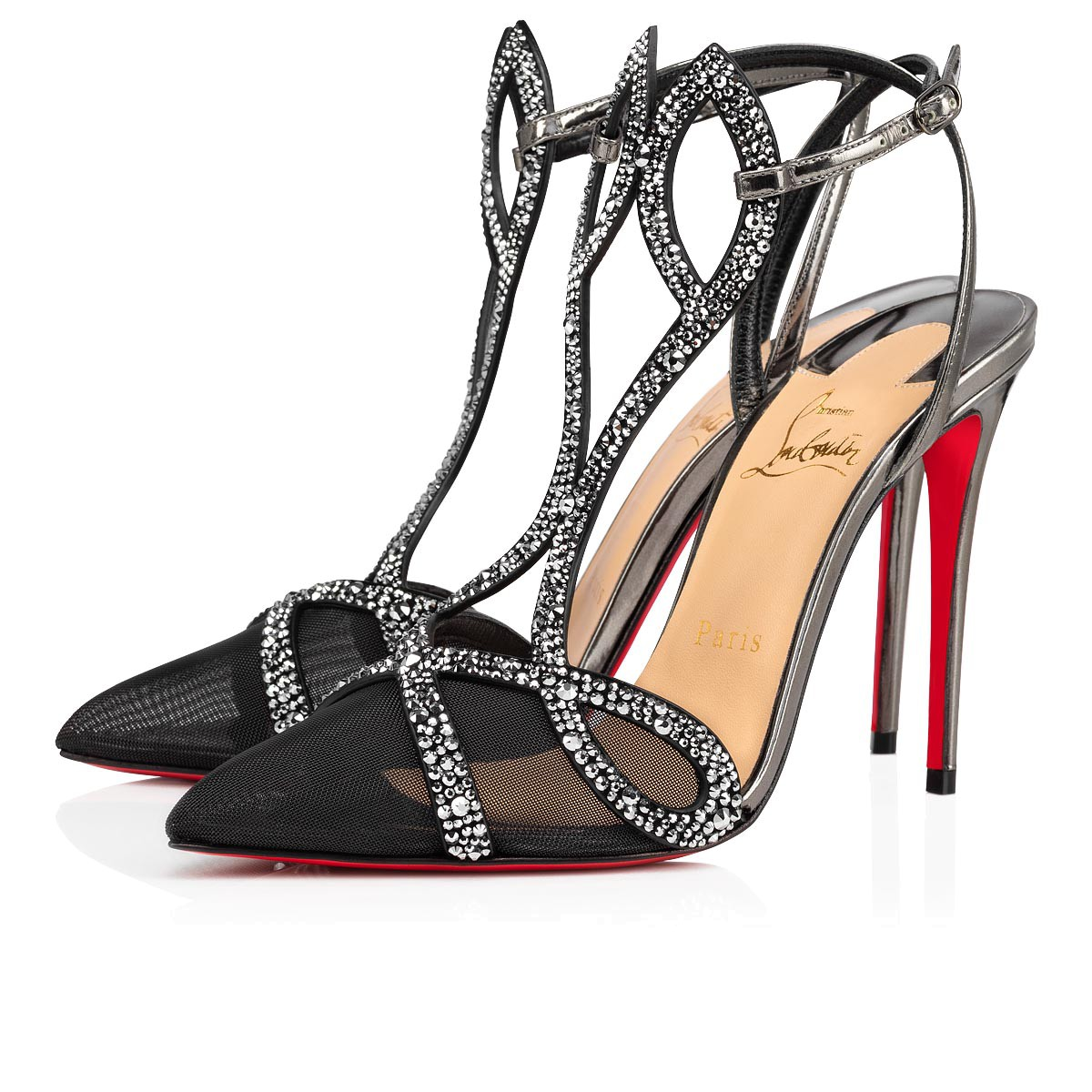 Shoes - Double L Pump Strass - Christian Louboutin