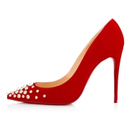 鞋履 - Spikyshell 100 Veau Velours - Christian Louboutin