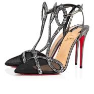 鞋履 - Double L Pump Strass - Christian Louboutin