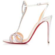 Shoes - Double L Sandal Strass - Christian Louboutin