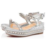 鞋履 - Pyraclou Specchio/laminato - Christian Louboutin