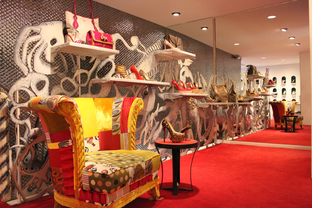 liste magasin louboutin paris
